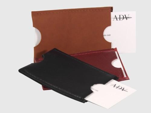 SERGIO Porte cartes en cuir