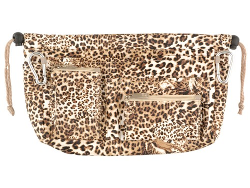 Luxury Handbag organiser in Leopard Print