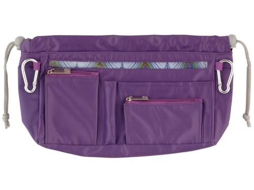 Handbag organiser in Purple
