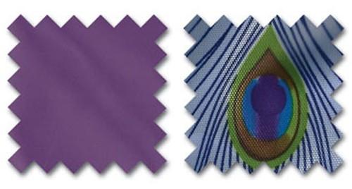Handbag organiser in Purple