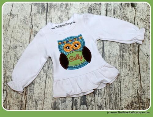 Hippie Owl Shirt or Onesie