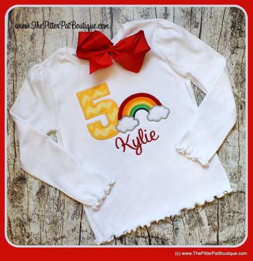 Rainbow Shirt, Bodysuit or Doll Shirt