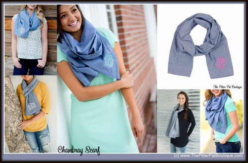 *SALE* Chambray Scarf