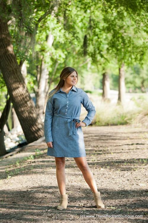 *SALE*  Chambray Dress