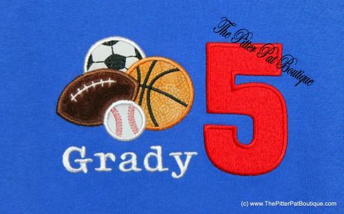 Sports Balls Shirt