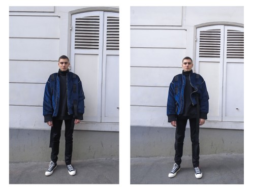 2017 DOUBLE-SIDED BOMBER JACKET (SOLD OUT)