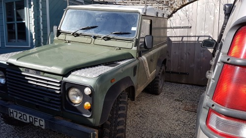 Land Rover Defender Colour Change Wrap