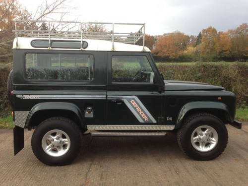 Land Rover Defender 200/300tdi Fixed price service
