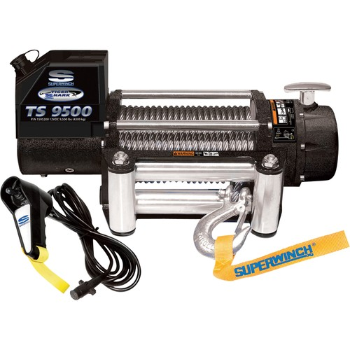 SuperWinch Tiger Shark 9.5 fitted
