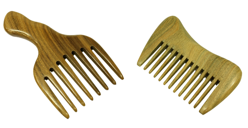 Handmade Combs Greenwood Sandalwood (Scented)