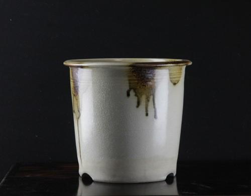 昭和16年(1941年) 河合栄之助作 植木鉢 径211mm 高193mm