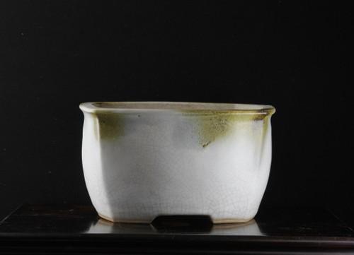 昭和16年(1941年) 河合栄之助作 植木鉢 巾280mm 高159mm