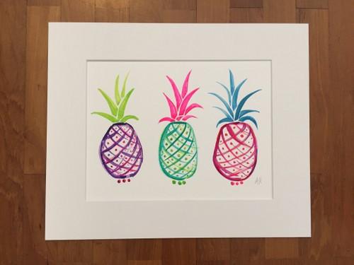Popping Pineapples
