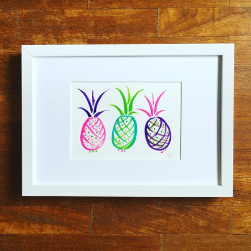 Popping Pineapples, small,
