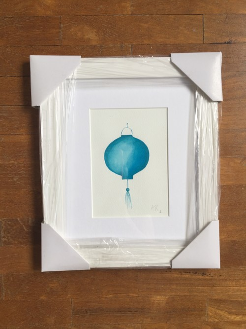 Turquoise Lantern small