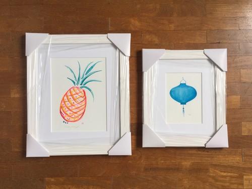 Pineapple in Orange