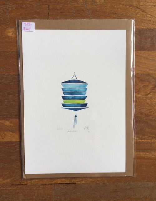Fine Art Print: Green Lantern
