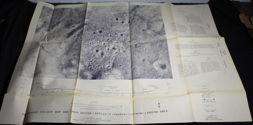 Apollo 17 Landing Area Geologic Map