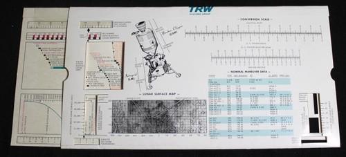 Apollo 12 TRW Mission Information Slide Display