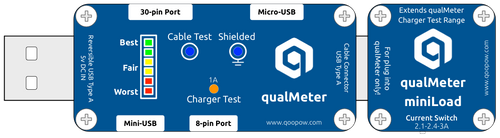 QooPow™ qualMeter miniLoad