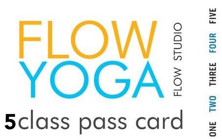 5 class pass card