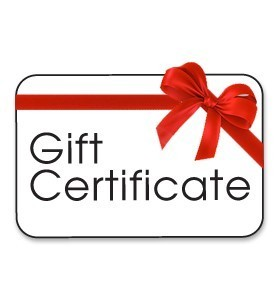 Gift Certificate for Any Product or Service