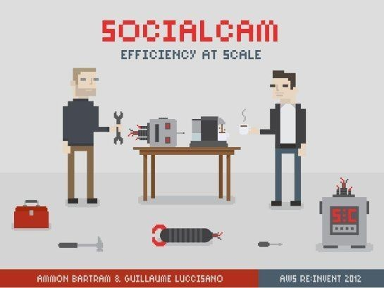 Sociacam - Efficiency at scale @ AWS Re:Invent 2012