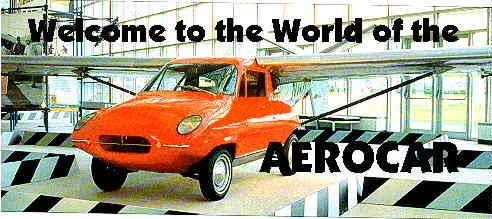 Molt Taylor's 1949-1960s Aerocars.  The Father of the Flying Car