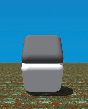 To experience the blind spot, place your finger over the middle seam between the two blocks. Cover that middle area with your finger completely and watch as the contrast completely changes.