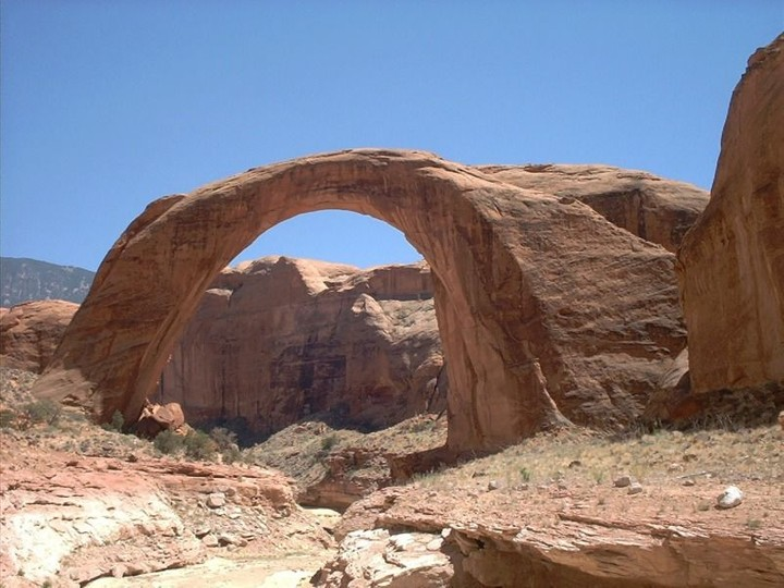 Rainbow Bridge, Lake Powell Utah