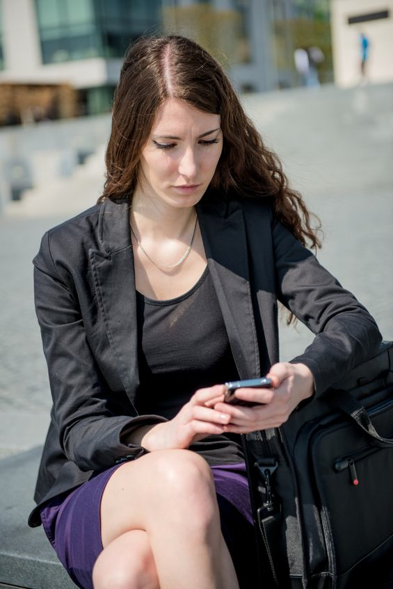 Woman Making Telephone Call