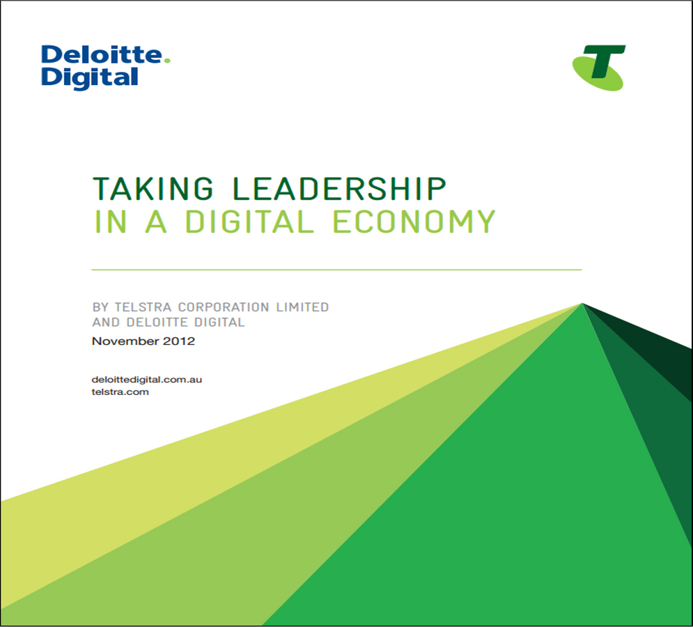 Taking Leadership in a Digital Economy