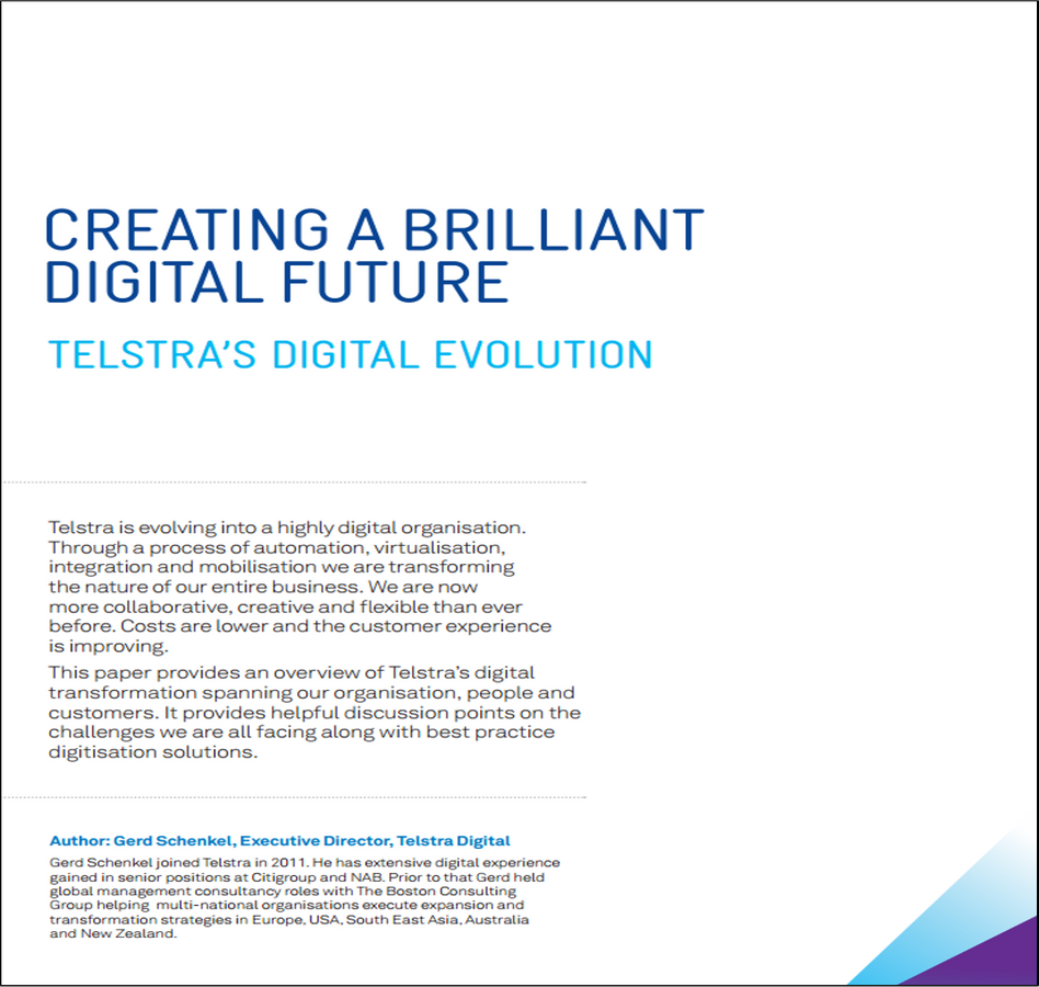 Telstra's Digital Evolution